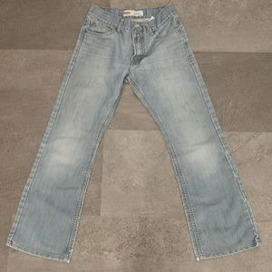 Levi's 527 boot cut jeans size 27x29, 18 slim